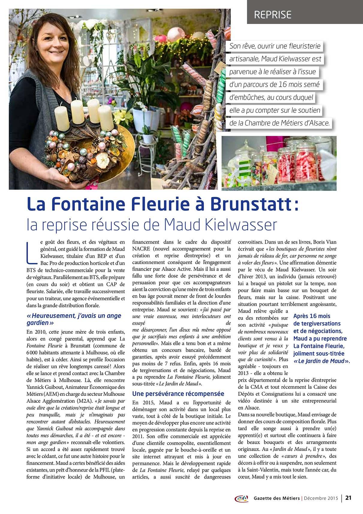Livre  Mulhouse fleuriste  Brunstatt